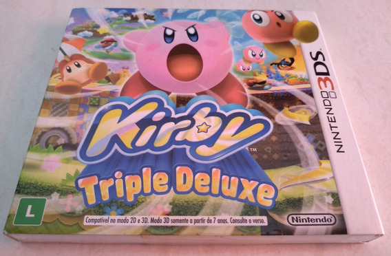 Kirby Triple Deluxe Nintendo 3ds Nacional E Lacrado