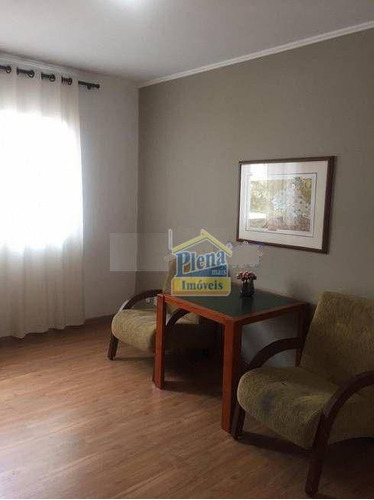 Imagem 1 de 7 de Flet No Centro De Campinas Com, 01 Suite, Cozinha E Sacada Com Piscina. - Fl0003