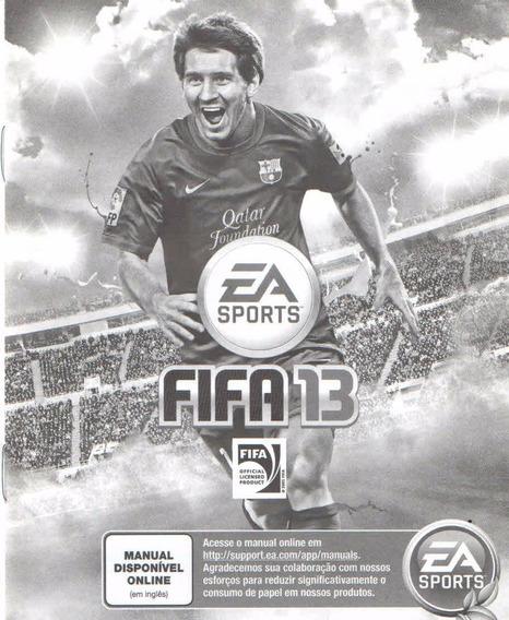 Manual De Instrucoes Fifa 13 /portugues /original/play3