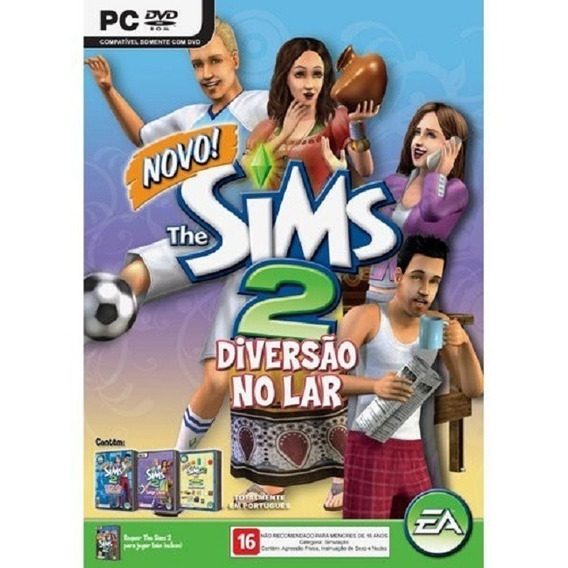 Game Pc The Sims 2 Diversão No Lar Original E Lacrado