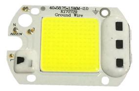 10 Chip Led 50w 6000k Inteligente Funciona Sem Reator 220v