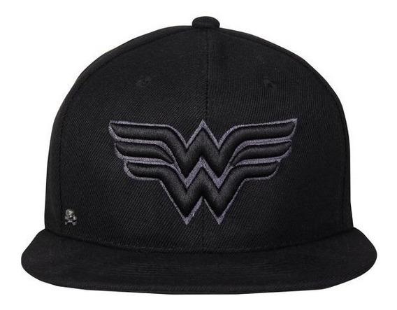 Gorra Wonder Woman Black Edition Dc Originals 2017 $260