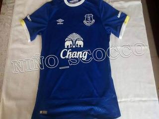 Jersey Del Everton De Inglaterra 2016 - 2017