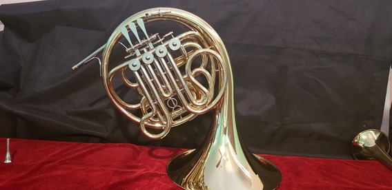 Corno Frances Doble F/bb.andreas Eastman Efh-463. Puro Brass