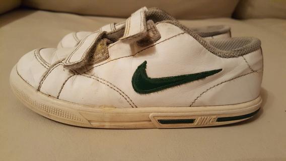 Zapatillas Nike T27 Con La Pipa Color Verde