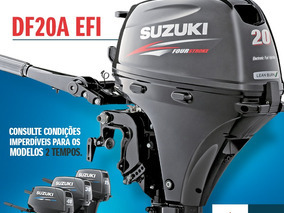 Motor De Popa Suzuki 20 Hp 4 Tempos Okm ( Injeçao )