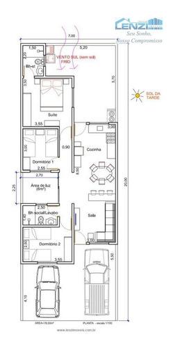 Imagem 1 de 1 de Casas À Venda  Em Bragança Paulista/sp - Compre A Sua Casa Aqui! - 1375023