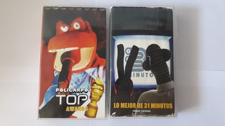 31 Minutos Vhs Video Valor Cada Una (de Segunda)