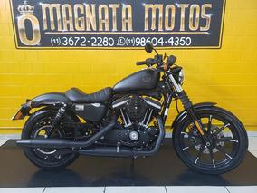 Harley Davidson Xl 883 N - Preta - 2019 - Km 1.200