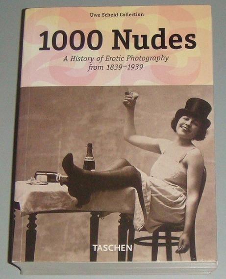 Livro 1000 Nudes ( Taschen ) Uwe Scheid Collection ( Inglês