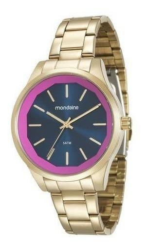 Relógio Feminino Mondaine Dourado Analógico 99093lpmvde2