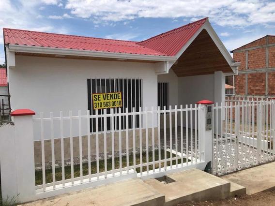 Espectacular Casa En Guaduas Nueva Para Estrenar