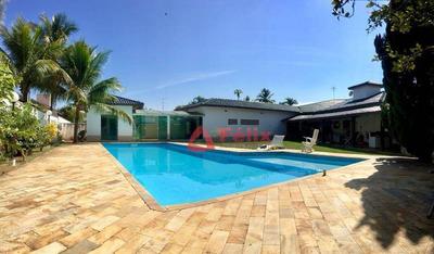 Casa Residencial Para Locação, Condomínio Vale Do Sol Em Tremembé. - Ca1168