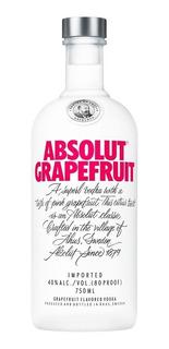 Vodka Absolut Grapefruit 750ml.