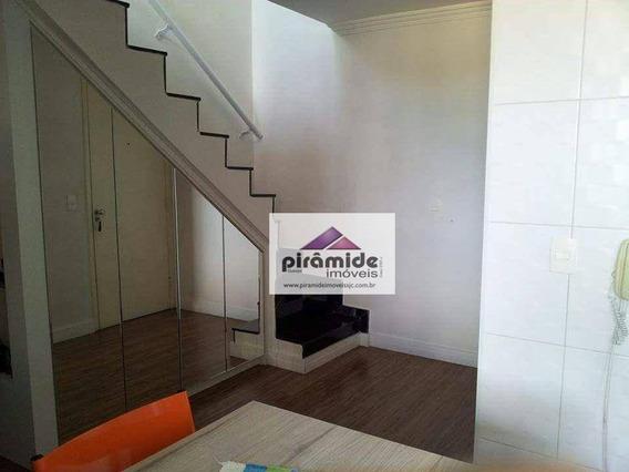 Cobertura Com 3 Dormitórios À Venda, 116 M² Por R$ 340.000,00 - Jardim América - São José Dos Campos/sp - Co0074