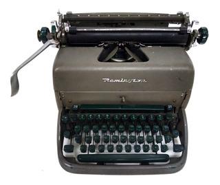 Máquina De Escribir Remington Rand Antigua