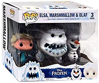 Funko Disney Frozen Pop. Movies Elsa, Malvavisco & Olaf Vin