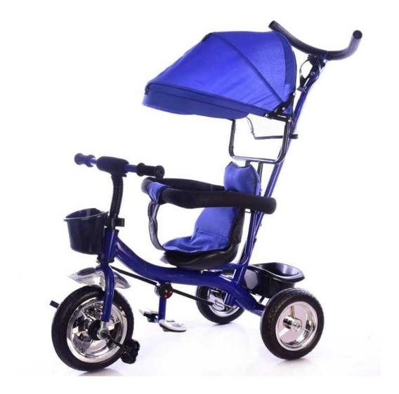 Triciclo Direccional Infantil Manija Capota Tzt45 Babymovil