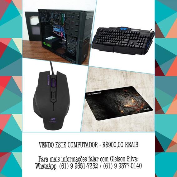 Computador Thermaltake V3 + Mouse Gamer E Teclado Mecânico