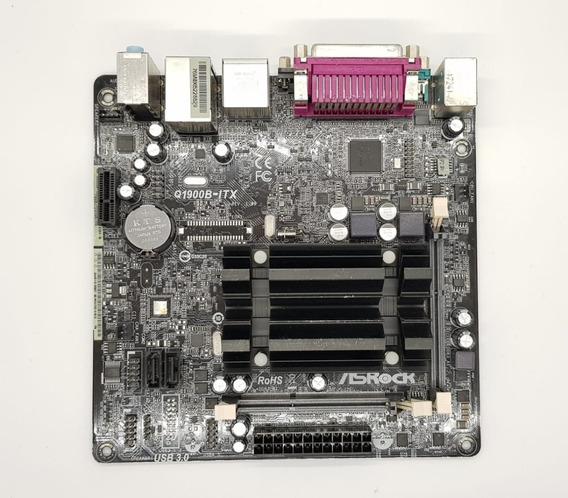 Placa Mãe Mini Asrock Q1900b-itx Intel Quad Core J1900