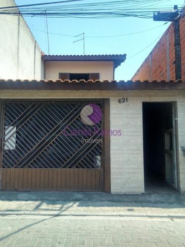 Imagem 1 de 30 de Sobrado À Venda 03 Dormitórios Em Parque Maria Helena- Suzano / Sp - So00442 - 68533470