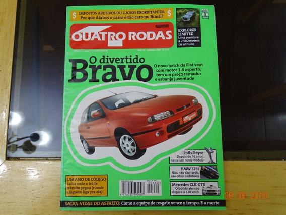 Revista Quatro Rodas 462 Janeiro 1999 Bmw Bravo Smart R404