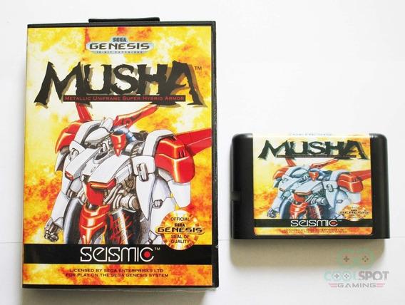 Mega Drive Genesis - Musha - Frete Grátis + Brinde!