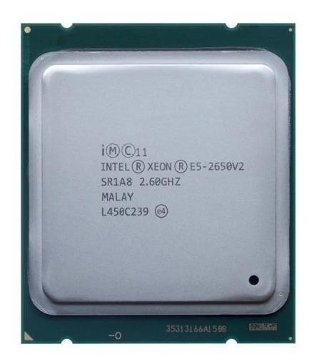 Processador Xeon E5-2650 V2 8/16 Cores 2.6ghz 20m Sr1a8 -24h