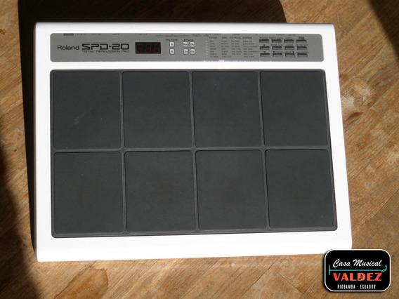 Bateria Electrica Roland Spd20 Electronica + Estuche