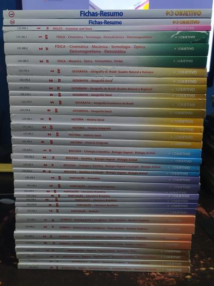 Coleção Objetivo Sistemas De Métodos De Aprendizagem 38 Vol.