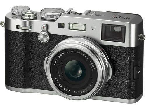Câmera Fujifilm X100f Com Lente 23mm (prata)