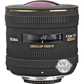 Lente Sigma 4.5mm F:2.8 Ex Dc Hsm Circular Fisheye
