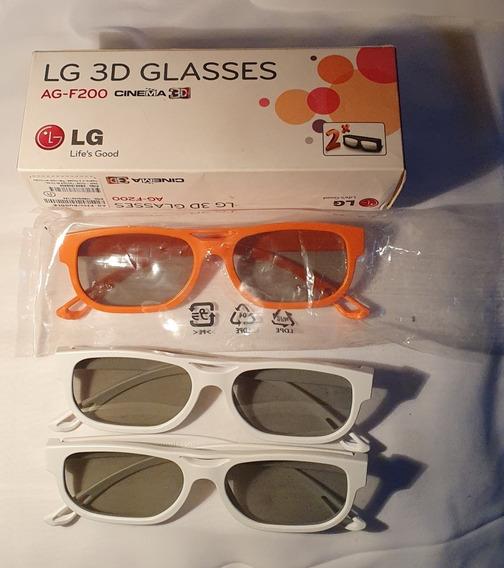 Oculos Lg 3d Na Caixa Agr. 200 Ok.