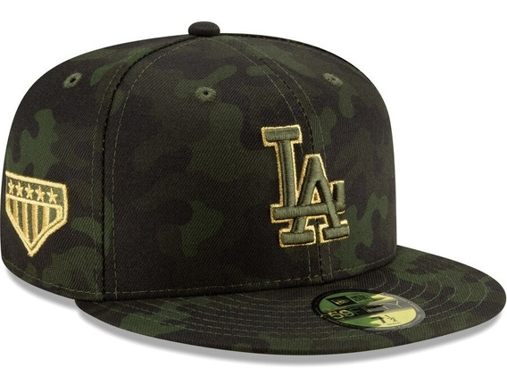 Gorra New Era Los Angeles Dodgers 59fifty Armed Forces Plana