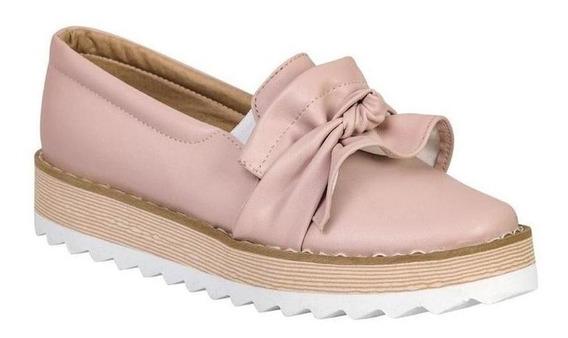 Zapato Cerrado Been Class Mujer Rosa Tipo Napa 10763