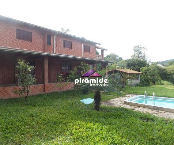 Chácara Com 3 Dormitórios À Venda, 4000 M² Por R$ 670.000 - Capuava - São José Dos Campos/sp - Ch0089