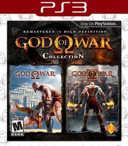 Coleção Do God Of War - Collection - Psn Ps3 - Envio Agora