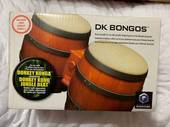 Game Nintendo Gamecube - Donkey Konga 2 Com Bongô