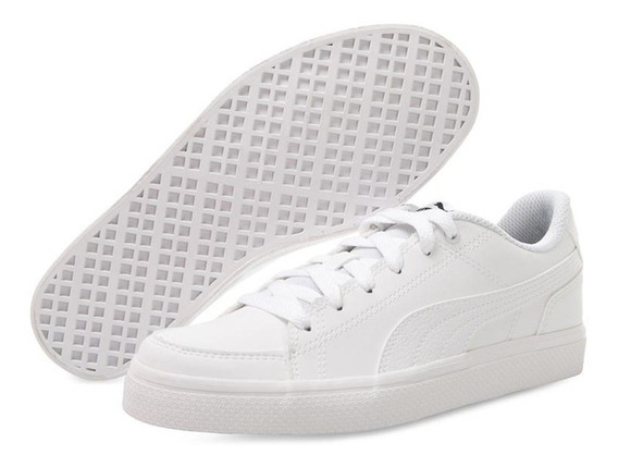 Tenis Puma Court Point Vulc V2 Jr Pr-8073632