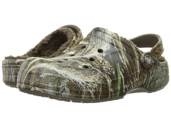 Sandalias Hombre Crocs Winter Realtree Max5 Clog