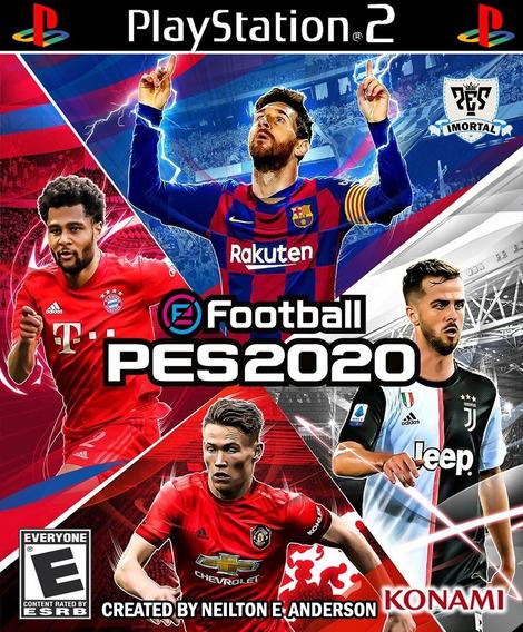 Pes 2020 Outubro Ps2 - 100% Atualizado - Iso Download / Dvd