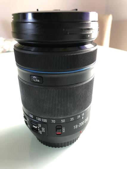 Lente Samsung Nx System L 18 - 200 Mm Ois Sem Detalhes!