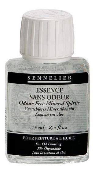 Odour Free Mineral Spirits Sennelier 75ml,esencia Petroleo