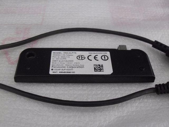 Adaptador Wireless Tv Panasonic Tc-32as600b - Dnua-p75