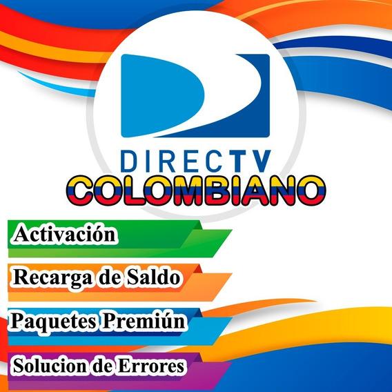 Recargas Directv Colombiano Prepago Activacion
