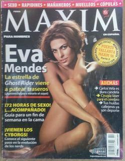 Revista Maxim Eva Mendes - Febrero 2007