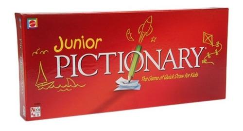 Pictionary Junior Juego De Mesa Mattel Original Ruibal Lelab