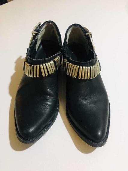 Zapatos Negro Mujer Botas Baja