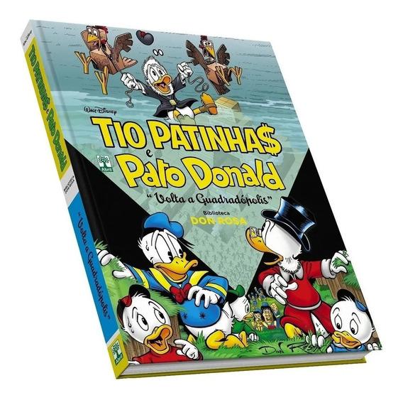 Hq Disney Tio Patinhas E Pato Donald Quadradópolis Don Rosa