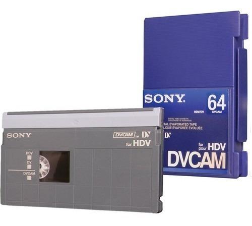Cassette Sony Dvcam 64 / Pdv-64n Solo Por Unidad